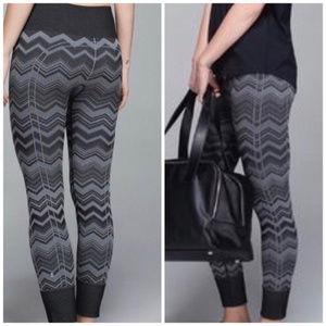 lululemon Ebb to Street Heathered Slate leggings